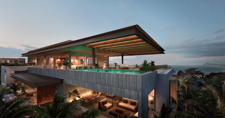 Mont Choisy Luxueux Penthouses 3 et 4 chambres